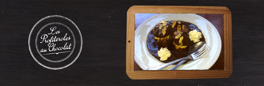 Slide – Profiteroles au chocolat